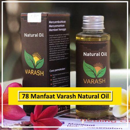 78 Manfaat Minyak Varash Natural Oil