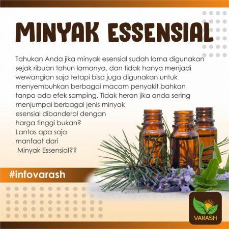 Manfaat Minyak Essensial bagi Kesehatan