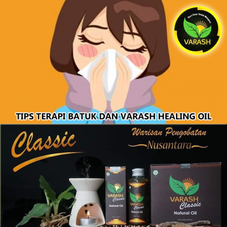 TIPS TERAPI BATUK DAN VARASH NATURAL OIL Part 2