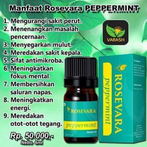 Rosevara Pepperment Essential Oil, Minyak esensial