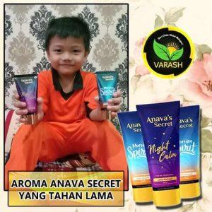 AROMA ANAVA SECRET YANG TAHAN LAMA